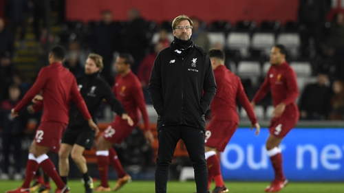Jurgen Klopp it would seem will not be dipping into the transfer market before deadline day