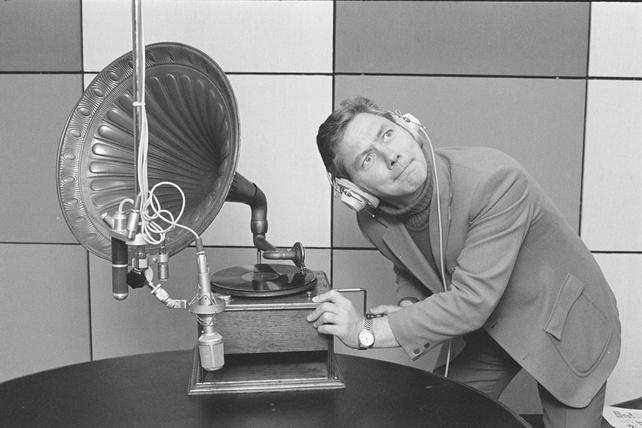 Gay Byrne Publicity Shot (1973)
