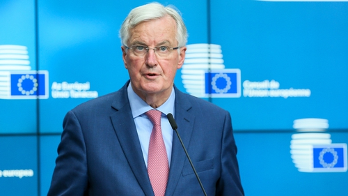European Union  negotiator Michel Barnier warns Brexit transition period 'not a given'