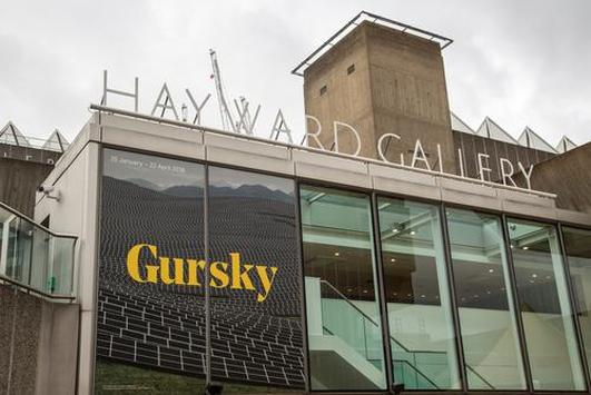 Review:   Andreas Gurksy at the Hayward Gallery London