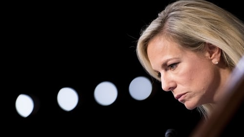 "US Homeland Security Secretary Kirstjen Nielsen said it was ""critically important"" to know who was entering the US"