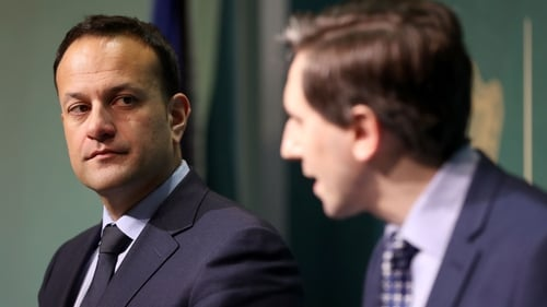 Simon Harris briefed Leo Varadkar and his Cabinet colleagues on the battle to contain Covid-19