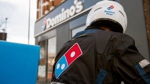 Extra demand for deliveries is so far more than outweighing the halt in Domino's in-store business