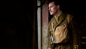 Sam Claflin as Captain Stanhope in the brilliant Journey's End