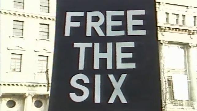 Birmingham Six Protest in Dublin (1988)