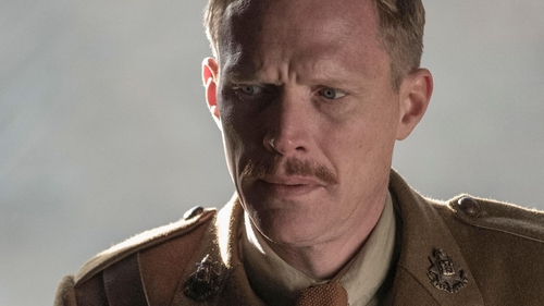 Paul Bettany as Lieutenant Osborne in the brilliant Journey's End