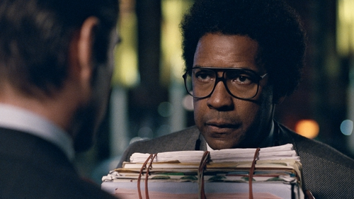We're getting Denzel Washington at his best, but with a script that doesn't do justice to his performance