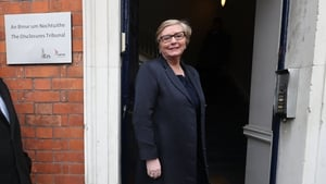 Former minister for justice Frances Fitzgerald arrives at the tribunal
