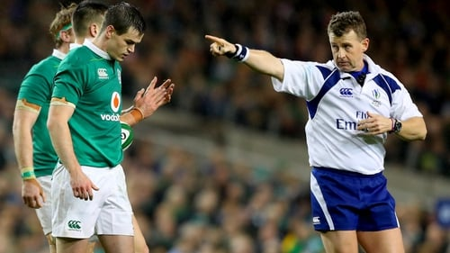 Nigel Owens will referee Ireland's opening Six Nations game against France. Ireland have a 50pc winning record in the Six Nations with the Welsh official in charge.