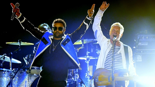 Sting and Shaggy teaming up for album of Jamaica inspired songs