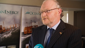 John McCarthy said today's announcement represents a major milestone for Ocean Energy