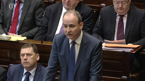 Micheál Martin described the Government position as very unfair