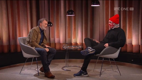 Blindboy from The Rubberbandits impresses on The Tommy Tiernan Show
