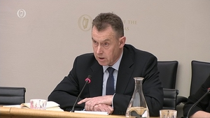 Paul Stanley, Ulster Bank Chief Financial Officer, speaks at the committee