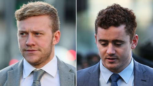 Stuart Olding and Paddy Jackson both deny raping the woman