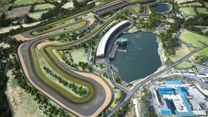 An artist's impression of the Lake Torrent venue