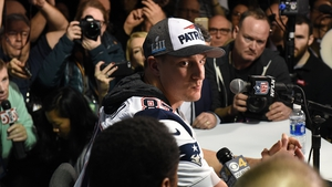 Rob Gronkowski: 'I was just going through the protocol, whatever the standards were.'
