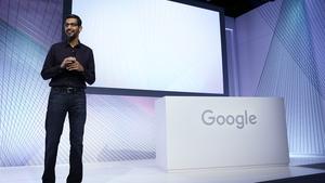 The company's CEO Sundar Pichai said revenue slowdowns should be expected as Google focuses on the long term