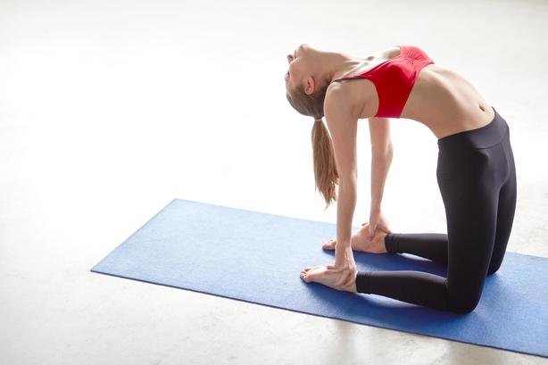 Intermediate/Advanced - Camel Pose (Ustrasana)