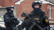 Officers from the Emergency Response Unit raided the house in Dublin (file pic)