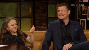 Michaela Morley and Brian O'Driscoll captured the nation's heart on Late Late Show