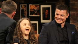 Brian O'Driscoll and Michaela Morley | The Late Late Show