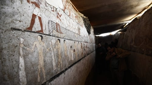 4400-year-old tomb was discovered in Egypt