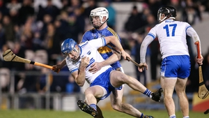 Tipperary's Michael Breen tackles Austin Gleeson