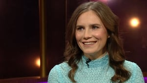 Amanda Knox on an appearance on the Ray D'Arcy Show in 2018