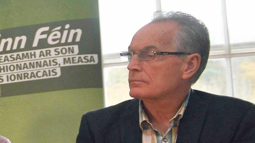 Sinn Féin confirms Gerry Kelly removed clamp from vehicle