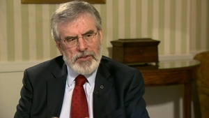 Gerry Adams said the UK government is not clear what its future relationship with the EU will be