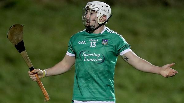 Aaron Gillane scored 1-01 for Limerick