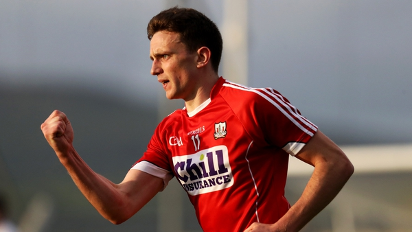 Mark Collins hit 1-05 for Cork in their six-point win over Down.