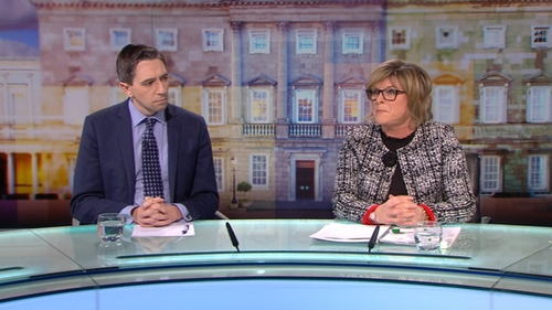 Simon Harris and Mary Butler made their comments on The Week in Politics today