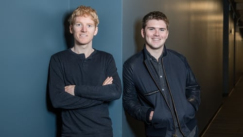 Stripe was founded by Limerick brothers Patrick and John Collision