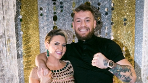 Erin McGregor with her little brother and MMA star Conor