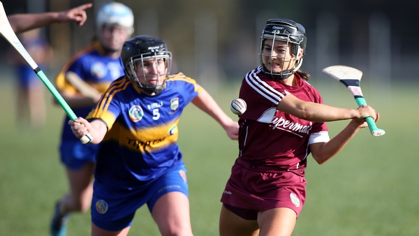Mary Ryan (l) is taking confidence from Tipperary's performances to date