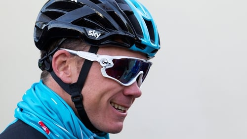 Chris Froome heads to the head to the five-day stage race in Andalusia