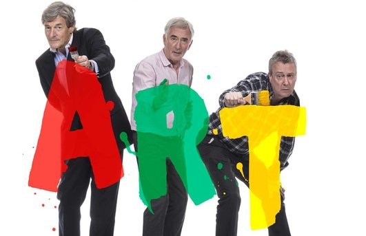 "Denis Lawson, star of ""Art"" at the Gaiety Theatre"