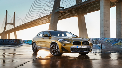 The new BMW X2 is one of the cars being offered on a monthly lease plan.