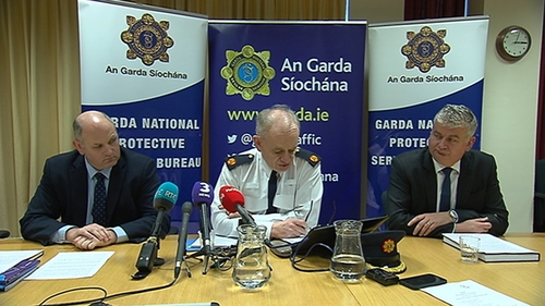 Gardaí have said the evidence gathering phase of the operation is now complete