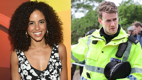 Parisa Fitz-Henley and Murray Fraser (pictured in his ITV series The Loch)