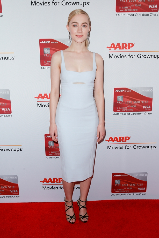 Saoirse Ronan attends AARP's 17th Annual Movies For Grownups Awards at the Beverly Wilshire Four Seasons Hotel on February 5, 2018 in Beverly Hills