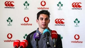 Joe Carbery may be in line to see some game time against Italy on Saturday