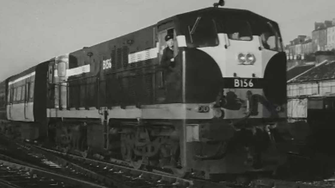 Image - The Cork to Youghal train in 1963.