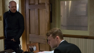 Max tries to find out about Abi's funeral on EastEnders