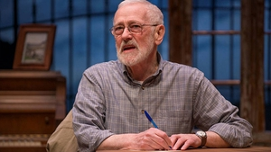 John Mahoney in Christian O'Reilly's play Chapatti, which played the Galway Arts Festival in 2014