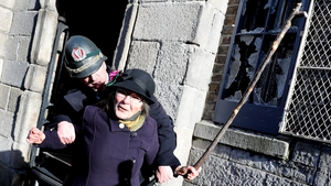 Dr Micheline Sheehy Skeffington reenacted her grandmother's protest