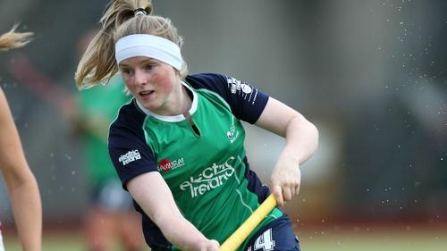 Naomi Carroll hit a milestone for Ireland