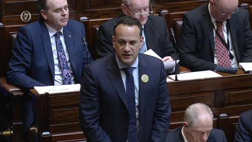 Leo Varadkar said he did not want to say anything that might cause offence to anyone at such a crucial juncture